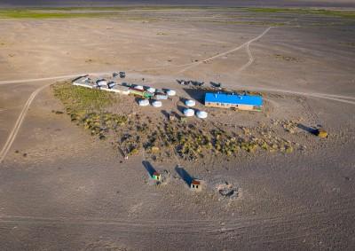 Fotoobraz - Základna Přísně chráněné oblasti Velká Gobi B v Tachin talu
