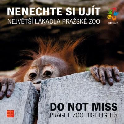 Dvojjazyčná brožura Zoo Praha