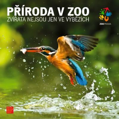Brožura s přírodou v Zoo Praha