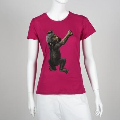 Dámské tričko s gorilou nížinnou