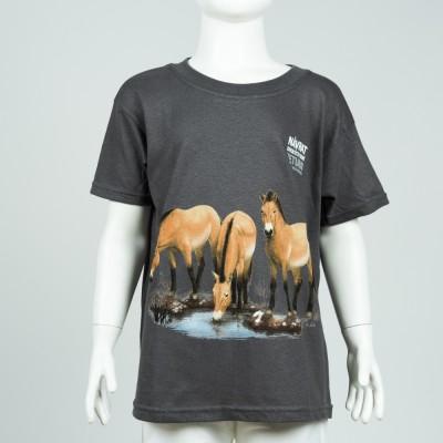 """Dětské tričko s motivem """"Návrat divokých koní"""", rok 2018"""