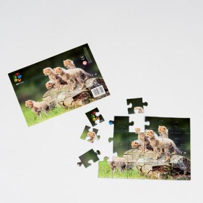 Puzzle Gepardi