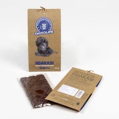 Mléčná čokoláda Ndakasi 55 % 50 g
