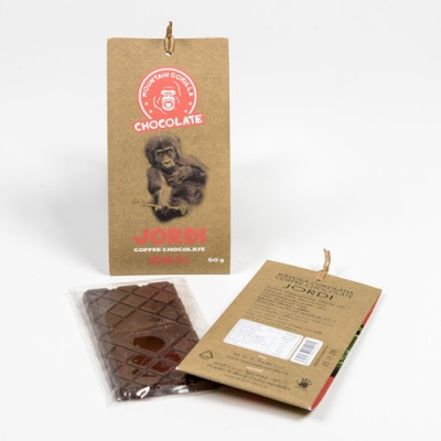 Kávová čokoláda Jordi 66 % 50 g