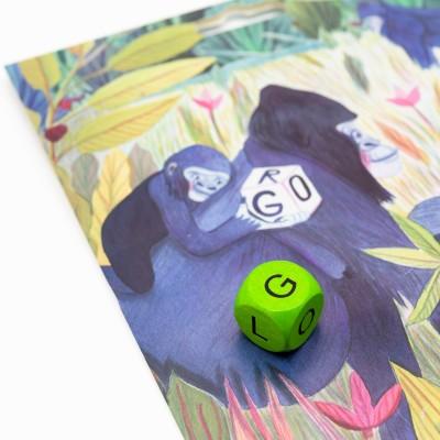 Gorilí kostky – 1 ks