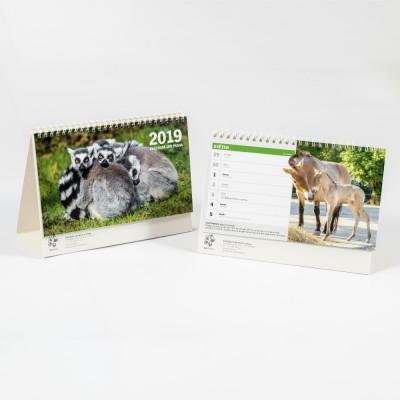 Stolní kalendář Zoo Praha 2019