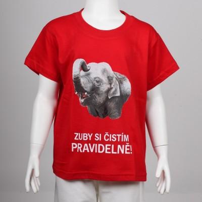 Dětské tričko se slonem