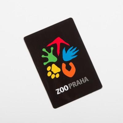 Magnetka s logem Zoo Praha