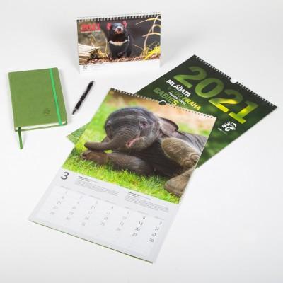 Sada kalendářů 2021