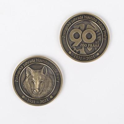 Pamětní medaile vlčice Lota