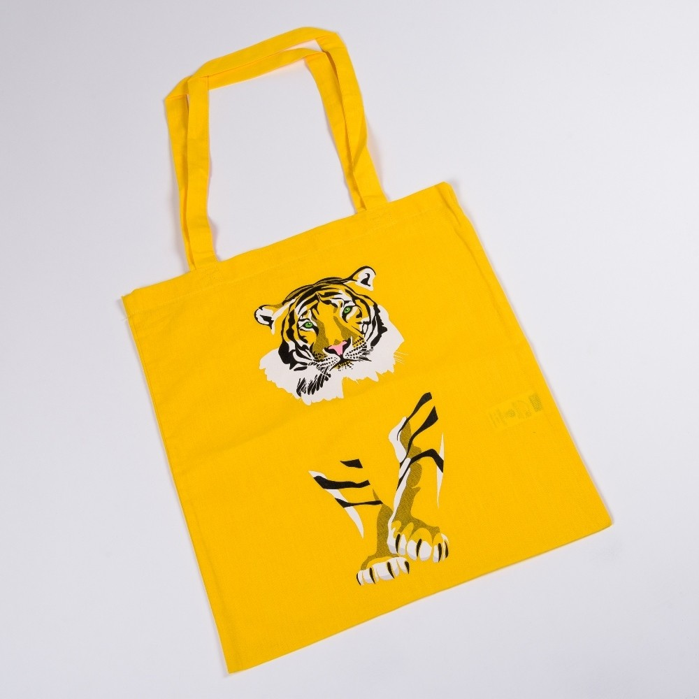 Látková taška s motivem tygra