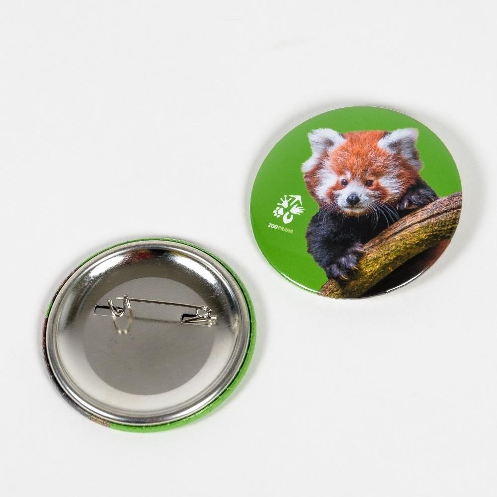Buton – panda červená