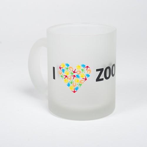 Hrnek s motivem I LOVE ZOO