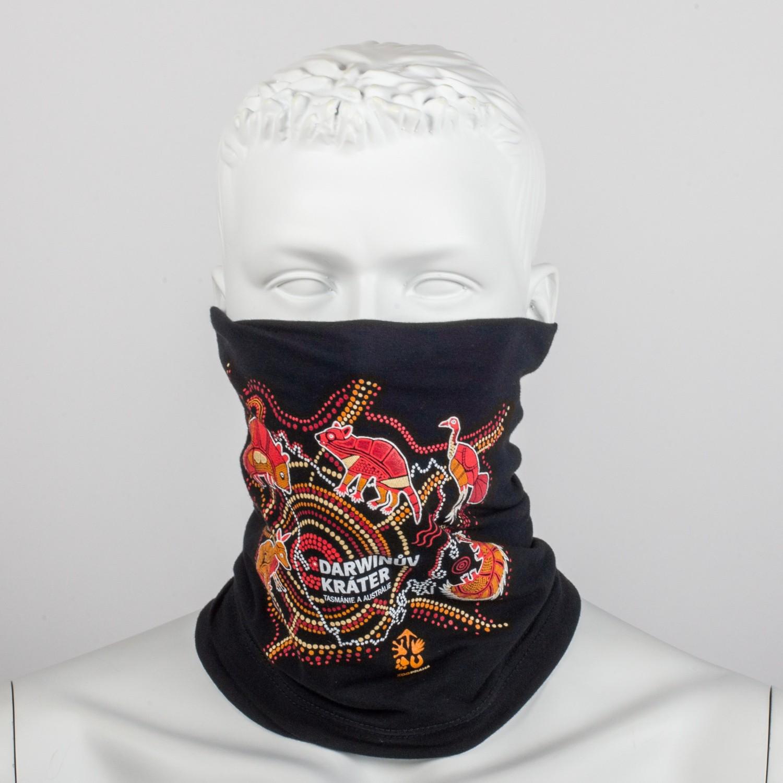 Originální multifunkční šátek ve stylovém designu