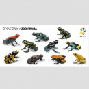 Pohlednice Zoo Praha – šípové žáby