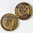 Pamětní medaile s koněm Převalského