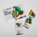 Balíček omalovánek s pastelkami – edice Ptáci Rákosova pavilonu
