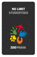 Roční vstupenka NO LIMIT studentská