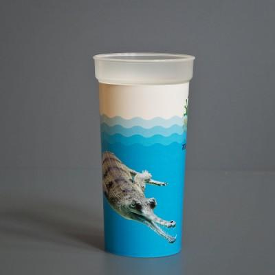 Kelímek s motivem gaviála indického (0,5 l)