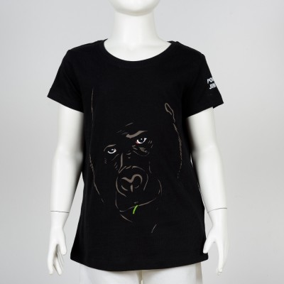 Dětské tričko bio bavlna – motiv Gorila