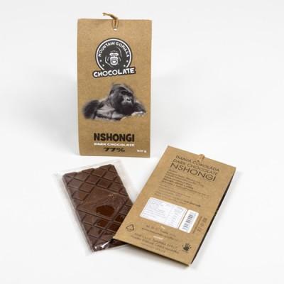 Hořká čokoláda Nshongi 77 %  50 g