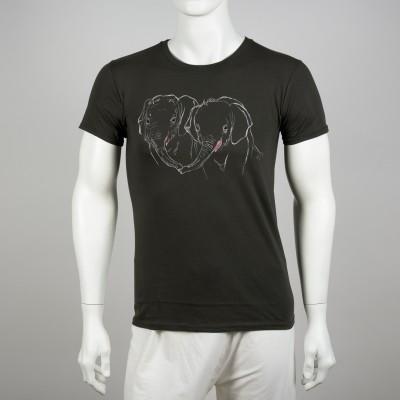 Pánské tričko s motivem slůňat