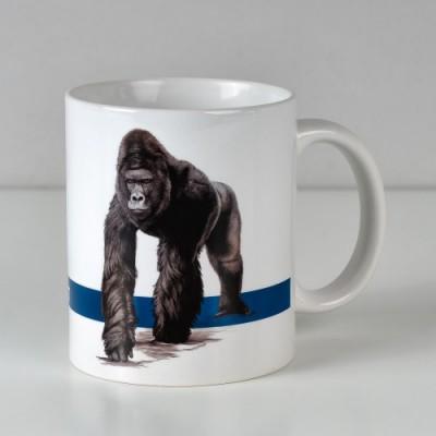 Hrnek s fotografií gorilího samce Richarda