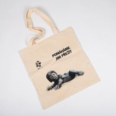 Látková taška  s gorilkou