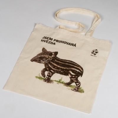 Látková taška s tapírem