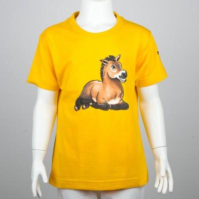 Dětské tričko s kresleným motivem koně Převalského