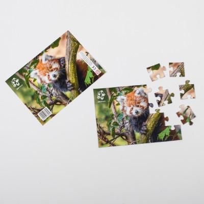 Puzzle Panda červená