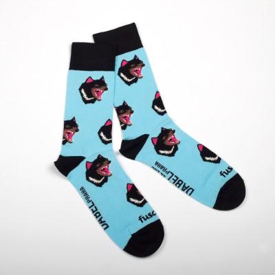 Designové unisex ponožky s motivem ďábla medvědovitého