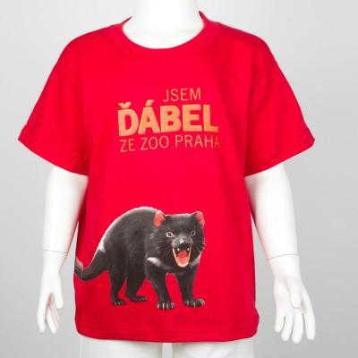 """Dětské tričko """"Jsem ďábel ze Zoo Praha"""""""