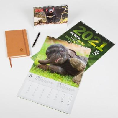Sada kalendářů pro rok 2021