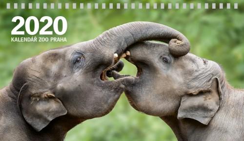 Stolní kalendář Zoo Praha 2020