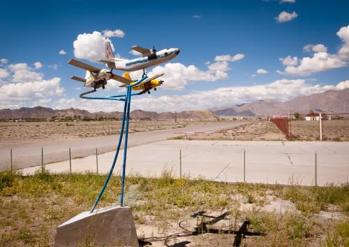 Fotoobraz - Výzdoba letiště v Bulgan sumu