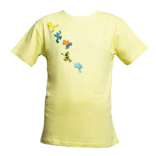Dětské tričko s motivem šípových žab