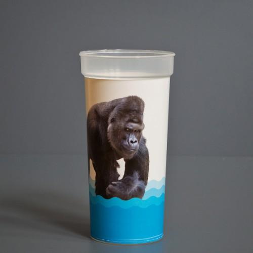 Kelímek s motivem gorilího samce Richarda (0,5 l)