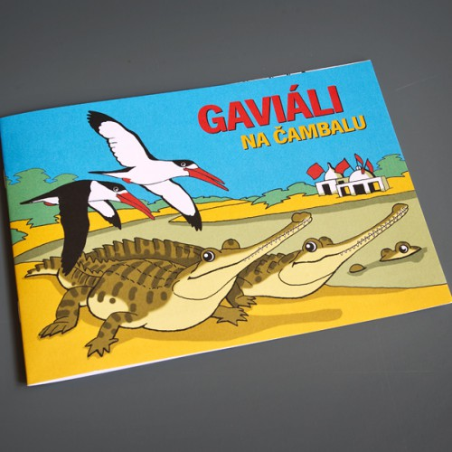 Omalovánky Gaviáli na Čambalu