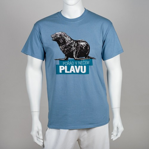 """Unisex tričko """"Pořád v něčem plavu"""""""