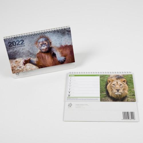 Stolní kalendář Zoo Praha 2022