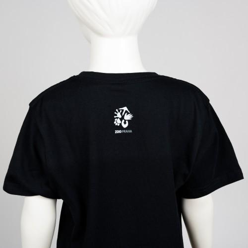 Bavlněné dětské tričko s motivem mláděte tapíra čabrakového