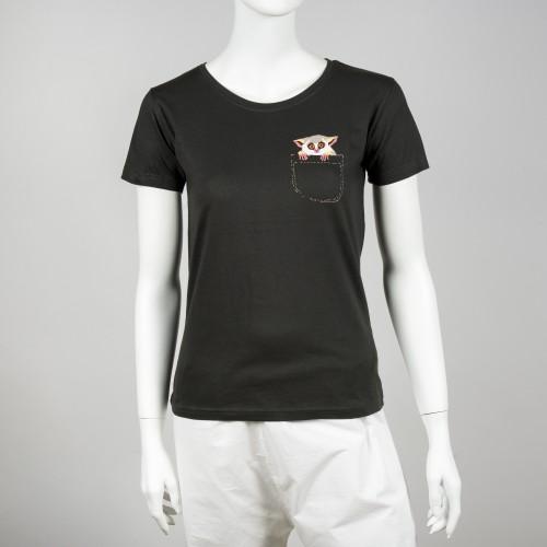 Dámské tričko s motivem komby ušaté
