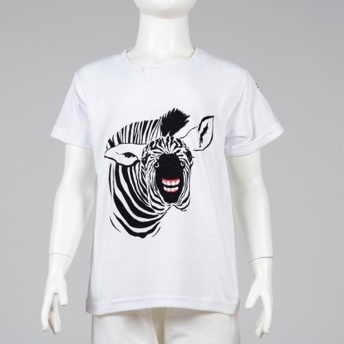 Dětské tričko se zebrou
