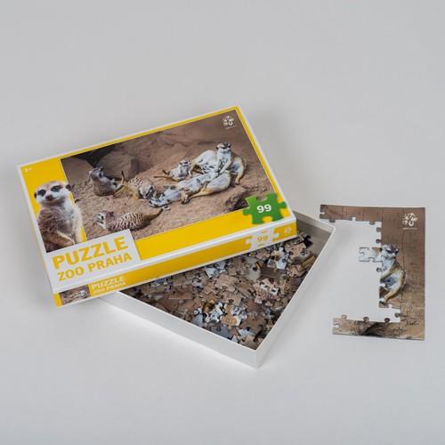 Originální puzzle Zoo Praha v krabičce