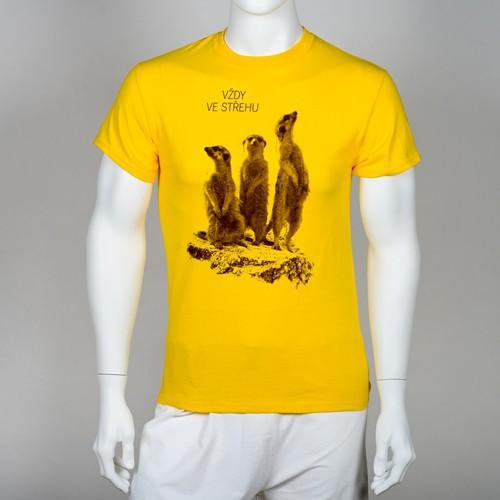 """Unisex tričko """"Vždy ve střehu"""""""