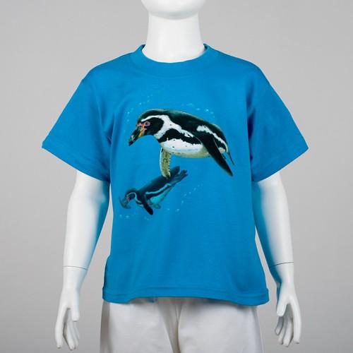 Dětské tričko s motivem tučňáka Humboldtova