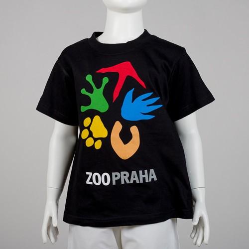 Dětské tričko s logem Zoo Praha
