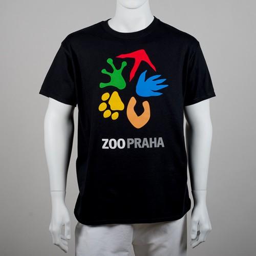 Unisex tričko s logem Zoo Praha
