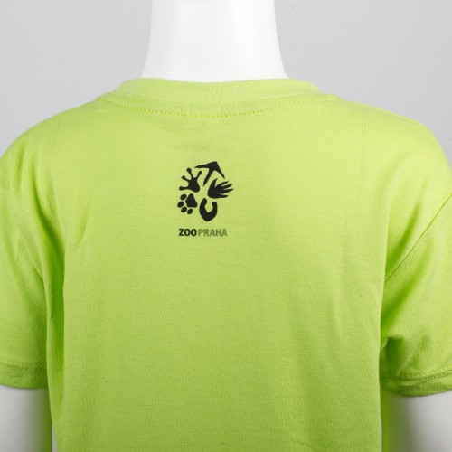 Dětské tričko s kresleným motivem gorily nížinné